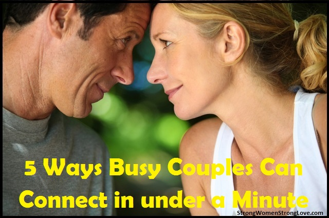 busy couples connecting