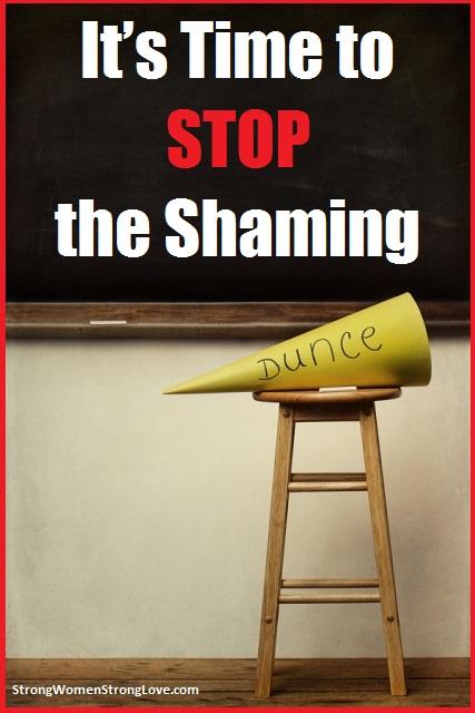 stop the shaming