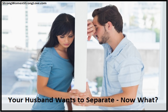How to ask for a separation from your husband