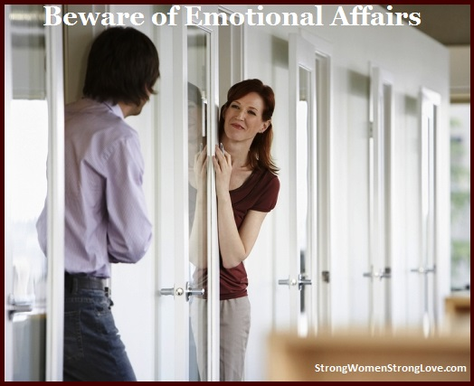 Office spouse emotional affair