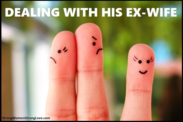 dealing with his ex wife relationship