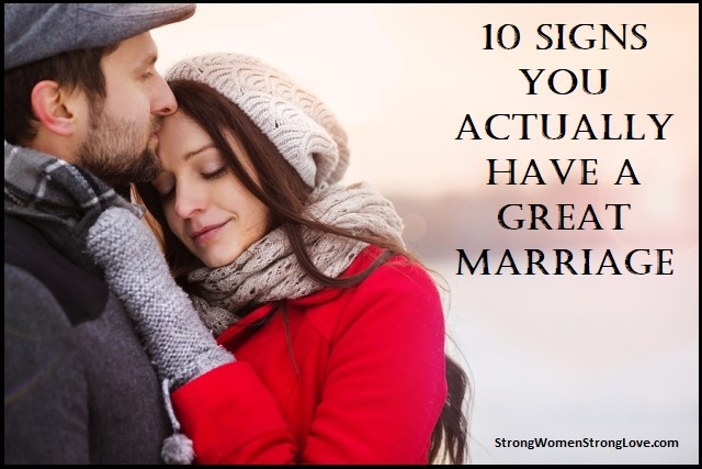 signs of a great marriage